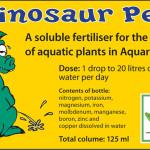 Dinosaur Dung, Dinosaur Pee and Dinosaur Spit